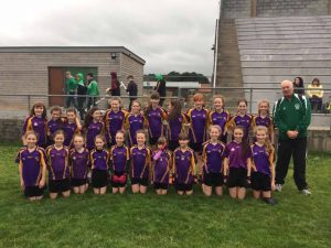 U12 girls away to Castlewellan !