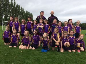 Under 8's Take on Local Rivals Bredagh at Cherryvale
