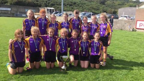 U12 girls clean up in Burren