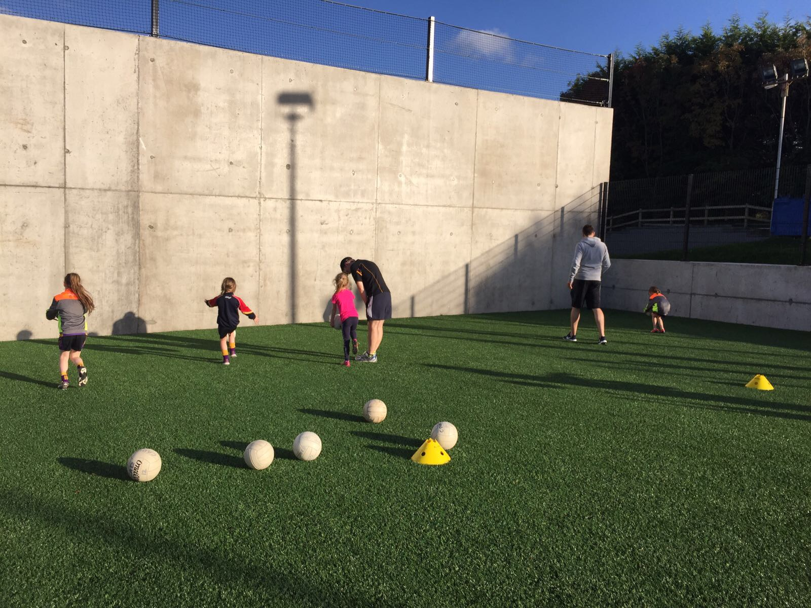 P2 & P3 Autumn football coaching