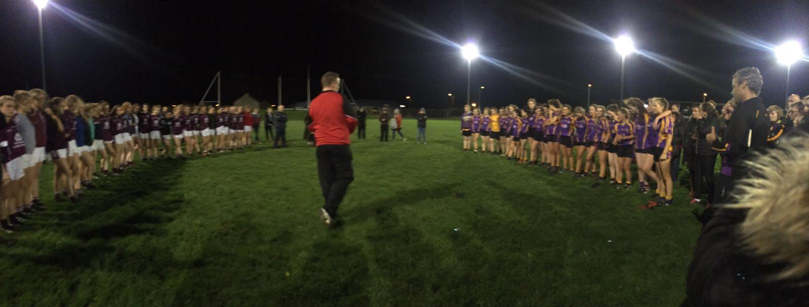 Minor girls take county Championship