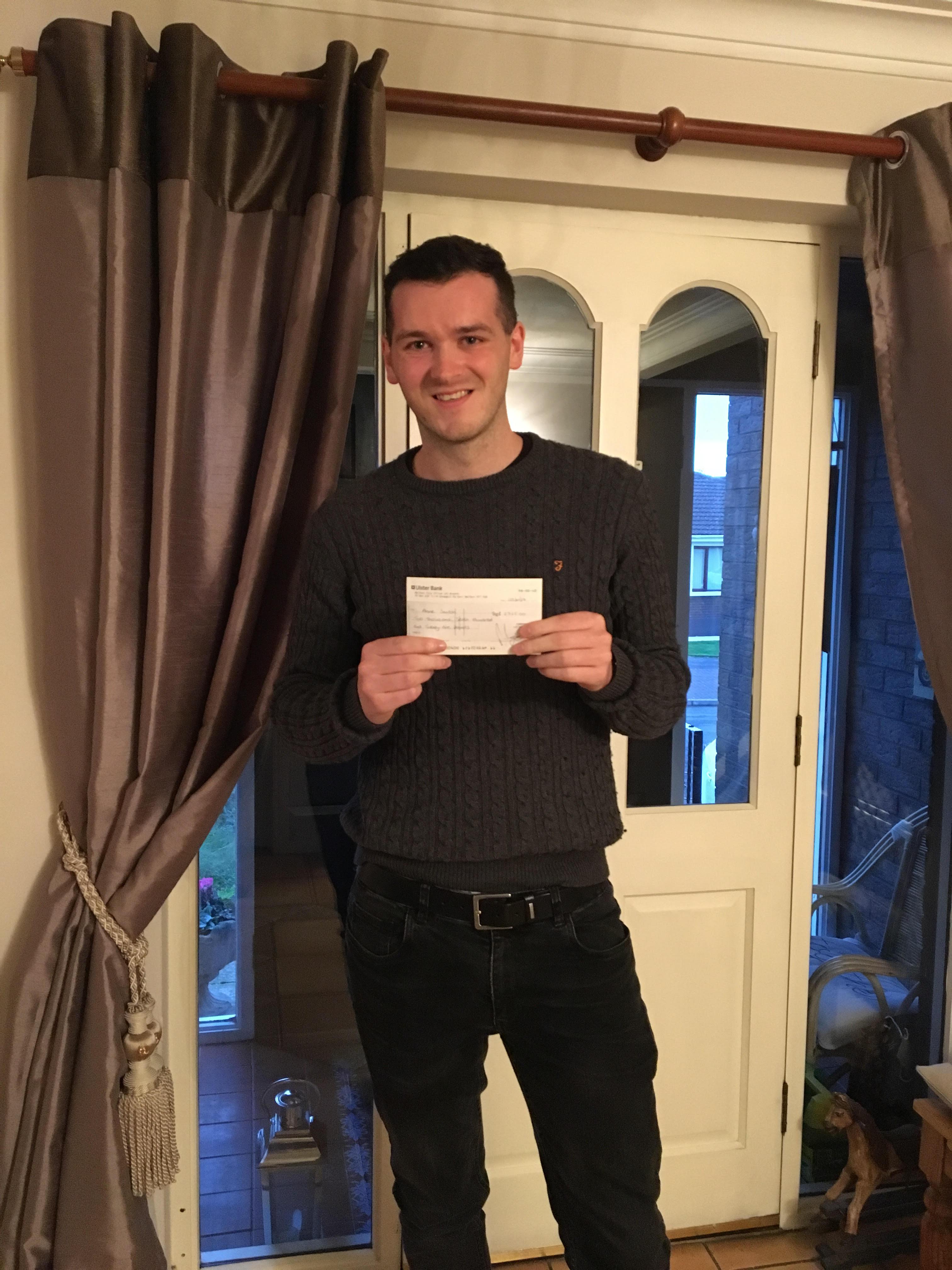 Carryduff lotto winner – Anne Smith