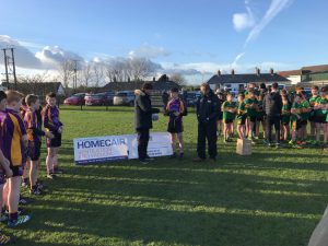 U13 Boys Win East Down A Championship
