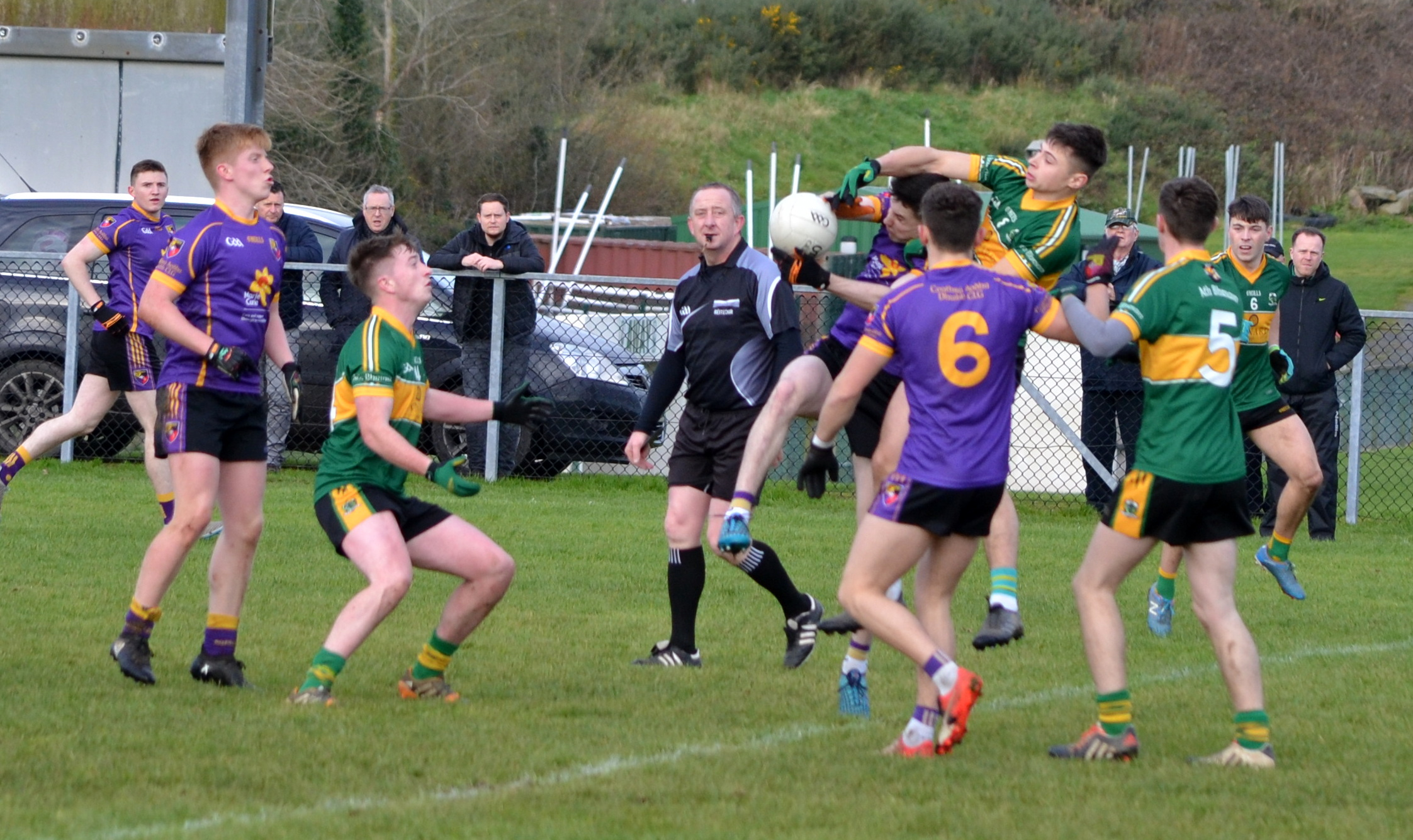 Carryduff claim County Under-21 Championship