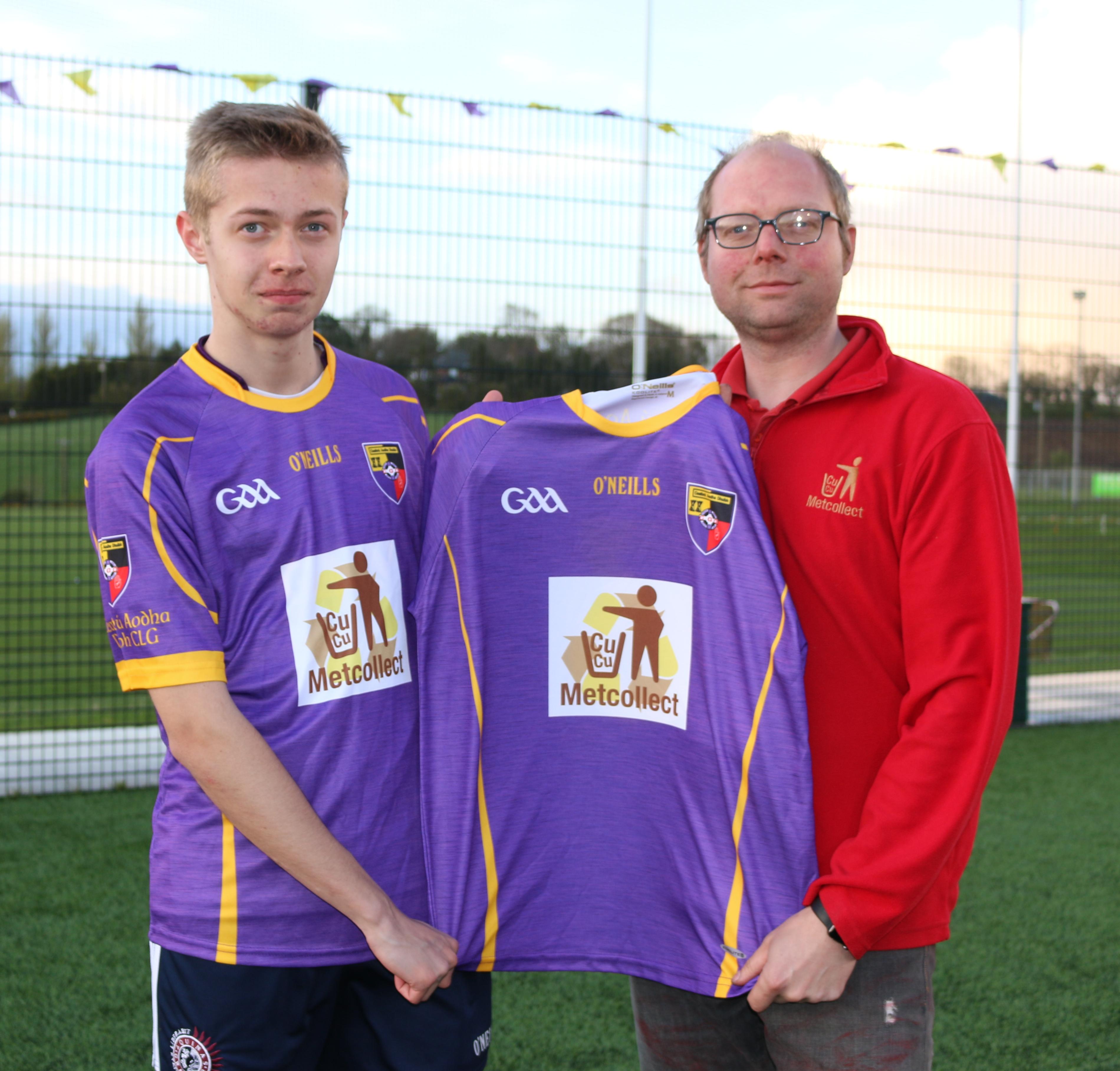 U16 Hurlers get new Sponsorship!