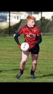 Carryduff player gets man of the match