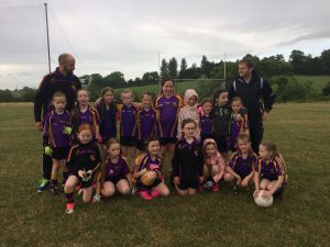 U8 girls welcomed Bredagh