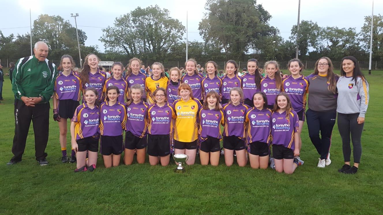 U14 Girls won the League !