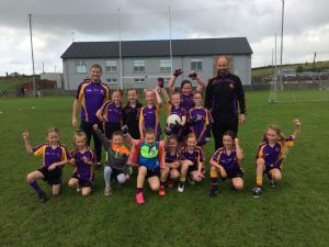 U8 Girls shine against Loughinisland