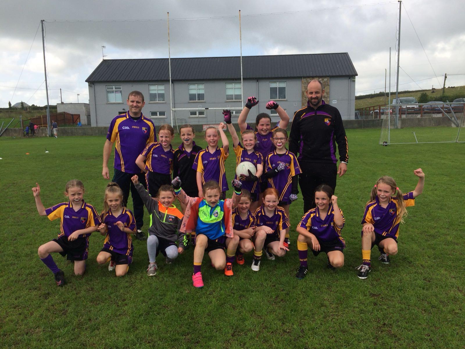 U8 Girls shine against Loughinisland
