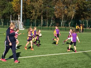 U8 girls attended their final blitz Of 2018