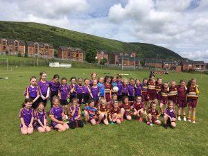 U8 Girls Belfast Go Games Blitz – Gort Na Móna.
