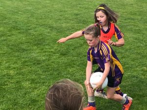 U8 girls travelled to Caslewellan for Blitz