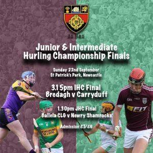 IHC Final Carryduff v Bredagh