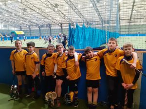 U11 Hurlers first outing !