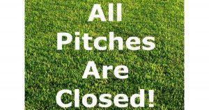 Grass Pitch closures