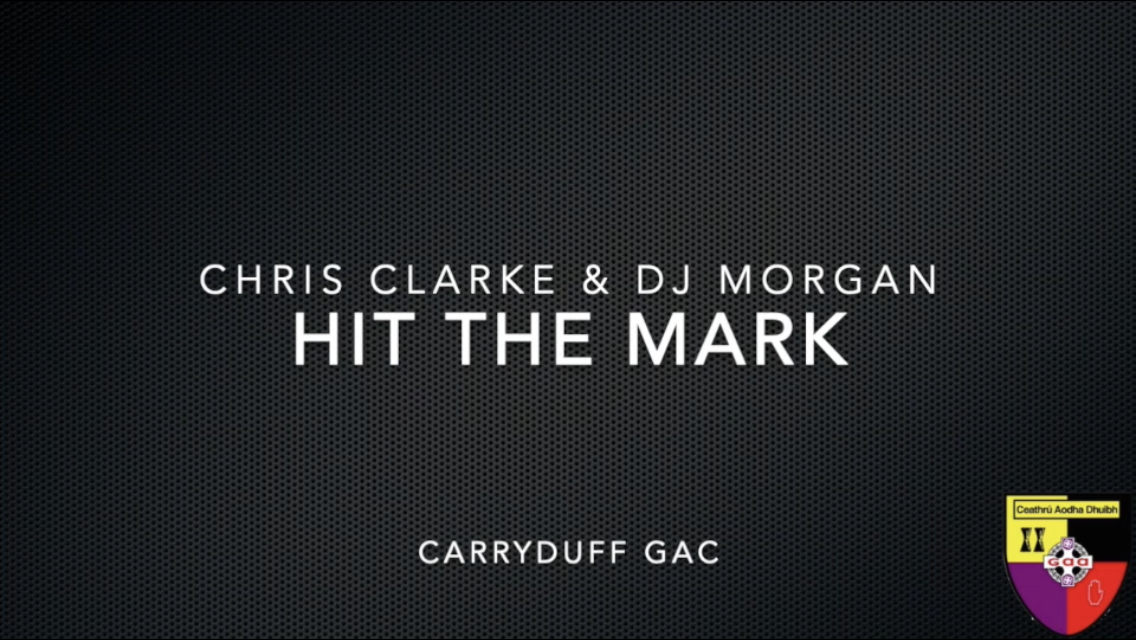 Hit the Mark with DJ Morgan and Chris Clarke