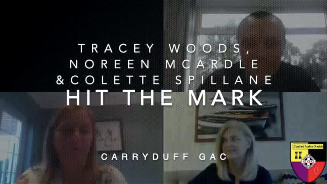'Hit the Mark' with Tracey Woods, Noreen McArdle and Colette Spillane