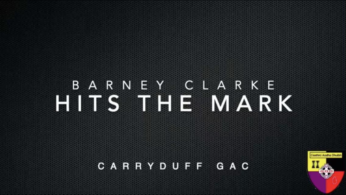 'Hit the Mark' with Barney Clarke