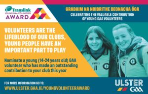 Call for Young Volunteer Of The Year Award Nominations