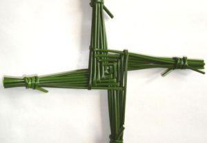 Join our Virtual St. Brigid's Cross making class