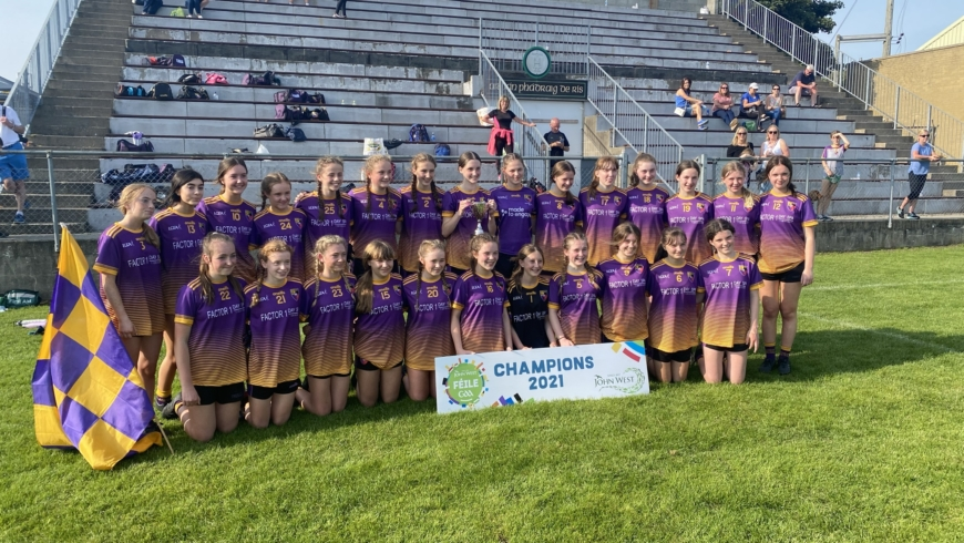 Under 15 Ladies Secure League and Feile Double